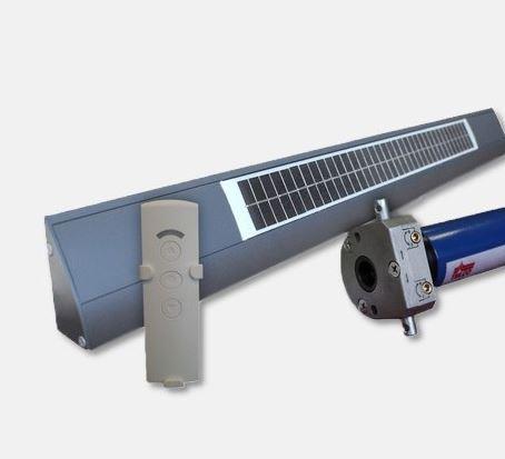 Kit de motorisation solaire autonome 12V 50Nm KITSOLAR50
